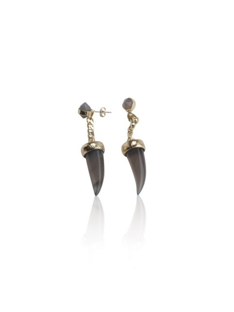 Cornum Earrings front