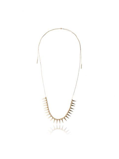 Vitrium Spike Necklace front