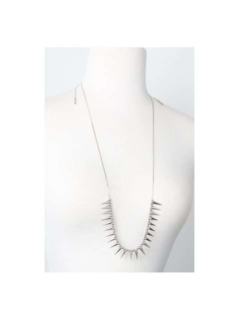 Vitrium Spike Necklace on mannequin