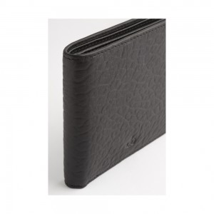AVGVS.S1.Men's.Lantana.Billfold.Wallet.bubble.calf.leather.black.3.3quarter