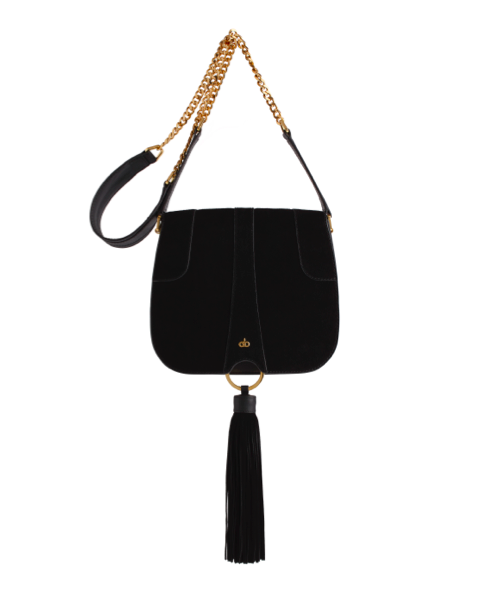 AVGVS Omissa Saddled Bag Crossbody black tassel